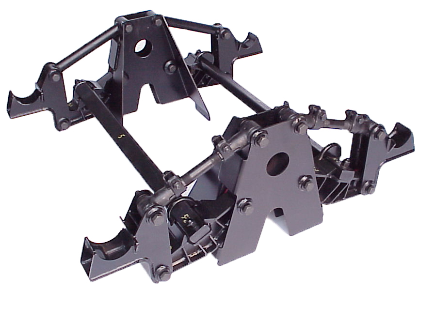 Military Trailer Suspension Assembly