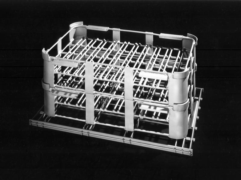 Braze Baseket on Furnace Grid