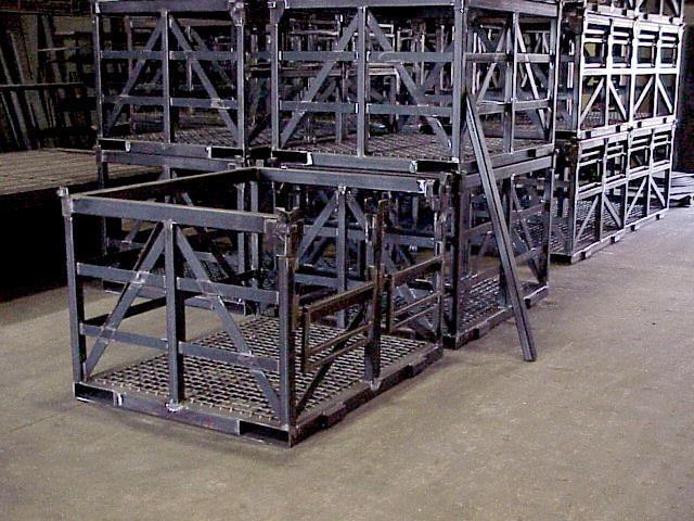 Heat Treat Baskets for Suspension Knuckle Baskets