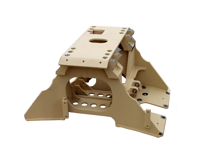 SubFrame - with Skid Plate End View