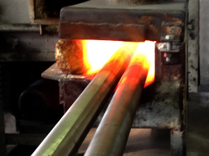 Bars in Furnace